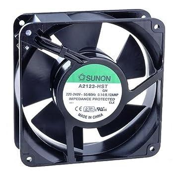 Extractor / Intractor Mini Ventilador Sunon 120mm / 178 m³/h (A2123-HST): Amazon.es: Electrónica