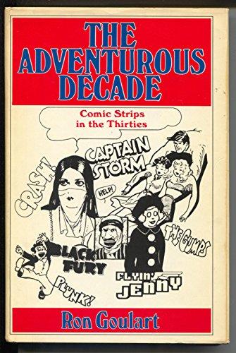 Adventurous Decade 1975- hardback-adventure newspaper comic strips-1930's-FN-