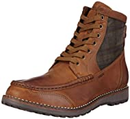 esta noche Sostener domingo  Geox Highland C Mens Leather Boots / Shoes - Brown Review - Rachedkova