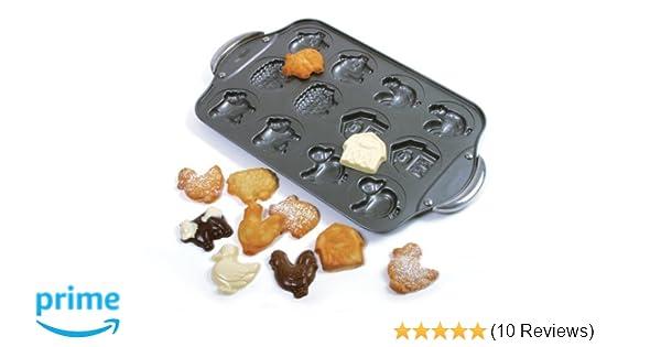 Norpro 12 Cup Nonstick Farm Cookie Pan