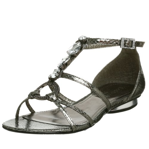 Coconuts by Matisse Women's Celebrate Sandal,Silver,8 M US