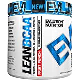 Evlution Nutrition LeanBCAA, BCAA's, CLA and L-Carnitine, Recover and Burn Fat, Sugar and Gluten Free, 30 Serving (Fruit Punch)