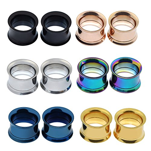Longbeauty Stainless Screwed Gauges Tunnels product image