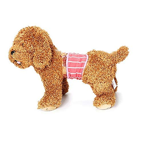 Dog Shorts - Cute Pet Dog Physiological Pant Dot Cotton Panty Sanitary Underwear Diaper Puppy Short - Frump Chase Hound Gasp Napkin Domestic Detent Andiron Pawl Tail Heave Bounder - 1PCs for $<!--$10.99-->