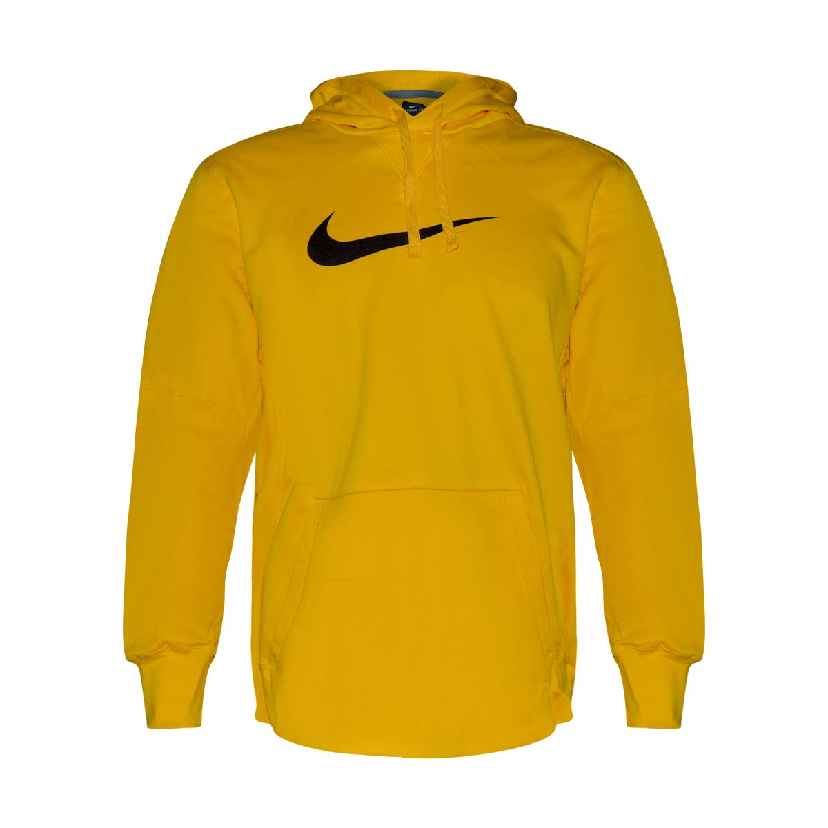 Nike Men's Therma-Fit Athletic Hoodie (Bright Yellow, XXL) by Nike