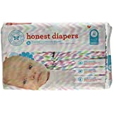 Image: The Honest Company Diapers | Simply pure - NO risky fragrances, lotions, or latex | Plant-based (PLA) inner and outer layers | gentle on your baby's bottom