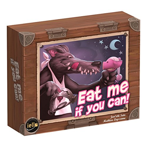 Purple Brain Creations PB1188 Eat Me If You Can Board Games, Multicolor