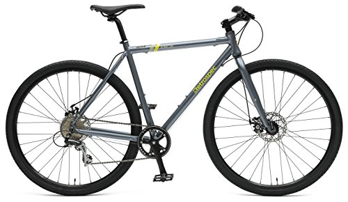 Retrospec AMOK v3 8-Speed UrbanGravel/Commuter Bike, Gravel, 54cm/Medium