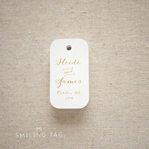 Calligraphy Chic Personalised Gift Tags