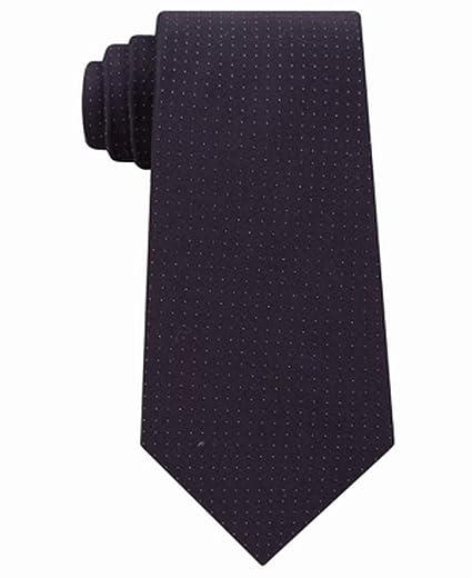 255c10c9fa87 Calvin Klein Men's Dot Slim Tie (Black, ONE SIZE) at Amazon Men's ...