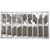 CJESLNA 360 Pcs Stainless Steel Watch Band Spring Bars Strap Link Pins 8-25mm Watchmaker
