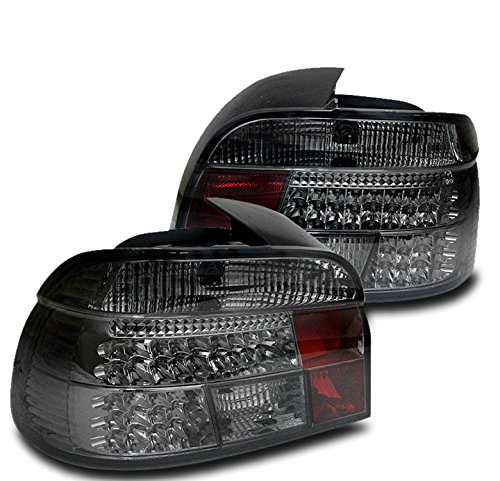 97 Tail Light Lamp Wagon (ZMAUTOPARTS BMW 5 Series E39 528I 540I LED Altezza Tail Brake Lights Lamps Smoke)