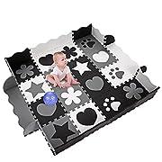 Baby Play Mats Non Toxic Crawl Mat Foam Mats for In/Out Doors 40Pcs