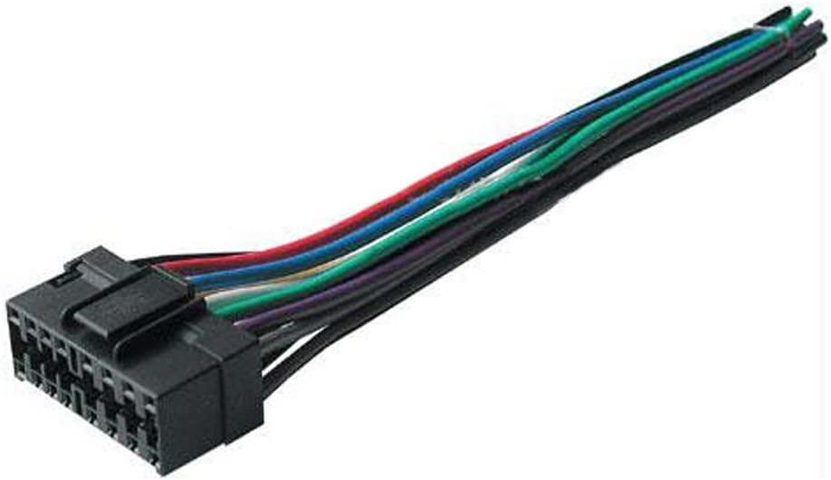 [SCHEMATICS_4US]  Amazon.com: Best Kits BHJVC16 Replacement Harness for Select JVC 16-Pin  Radios | Jvc Wire Harness Chevy |  | Amazon.com