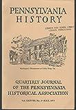 img - for Pennsylvania History: Quarterly Journal of the Pennsylvania Historical Association: Volume XXXVIII, No 3: July, 1971 book / textbook / text book