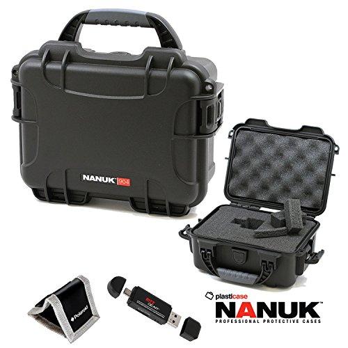 nanuk-904-hard-case-with-foam-black-904-1001-polaroid-memory-card-wallet-and-ritz-gear-card-reader-w