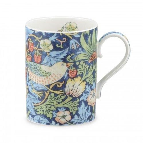 Portmeirion Strawberry (Royal Worcester Strawberry Thief - Indigo Mineral Gift Boxed Mug by Portmeirion)