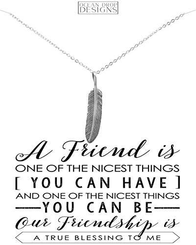 Friendship Necklace Ocean Drop Designs