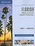 Florida Real Estate Exam Manual, Linda L. Crawford, 1419525816