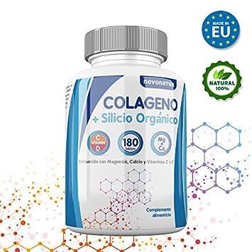 Colageno, Colageno hidrolizado con magnesio, calcio, vitamina C y ...