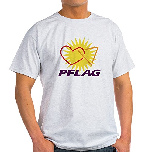 - CafePress PFLAG Logo (Large) T-Shirt 100% Cotton T-Shirt Ash Grey