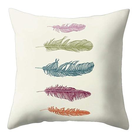 Funda de cojín Fragonaur con diseño de atrapasueños de plumas, funda de almohadón para decoración de sofá, 9#, Medium