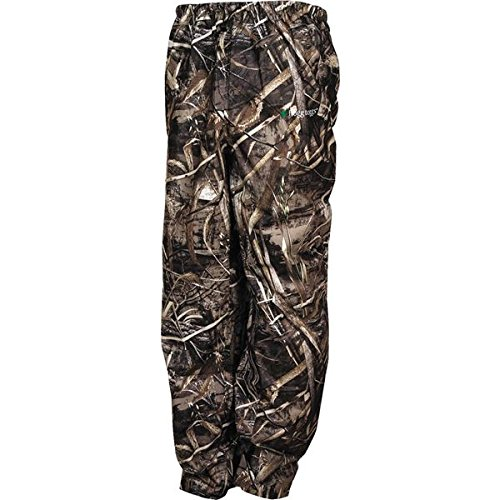 Frogg Toggs Pro Action Camo Rain Pants, Size: XL, Distinct Name: Realtree Max 5, Gender: Mens/Unisex, Primary Color: Brown PA83102-56XL