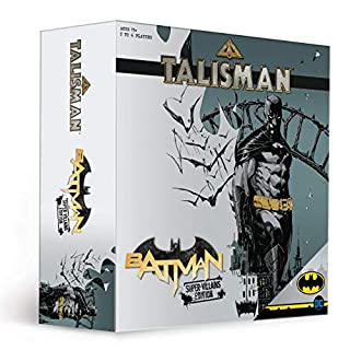 Talisman Batman Super-Villians Edition Competitive Board Game | Based on the Talisman Magical Quest Game | Official Batman Licensed Merchandise | The Joker, Harley Quinn, Mr. Freeze, Bane, The Penguin