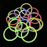 "200 8"" Glow Stick Bracelets,mixed Colors"