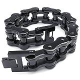 Best Adisaer Mens Bracelets - Adisaer Womens Mens Stainless Steel Bracelets Biker Bracelet Review