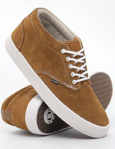 Element Preston - Zapatillas de Skateboarding de cuero hombre marrón - marrón