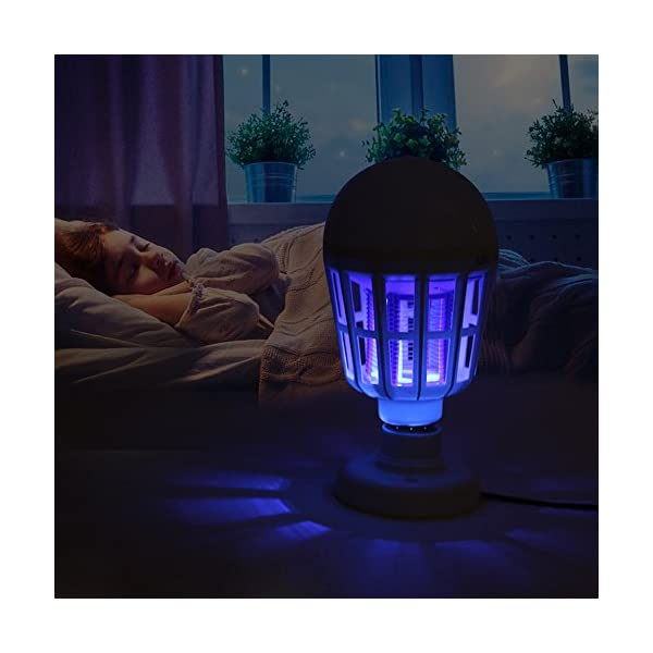 NUOVA Lampadina Anti-zanzara a LED, Mecohe 15W 1000LM 6500K Elettronico Mosca Insetto Fly Bug Zanzara Killer Bulb… 7 spesavip