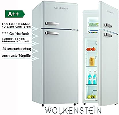 Wolkenstein GK212.4RT SW - Frigorífico combi con congelador en ...