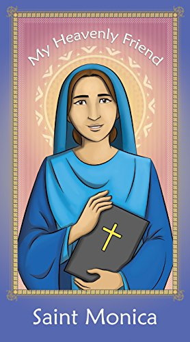 Prayer Card: Saint Monica - 2.5 X 4.5 fully - Card Entertainment