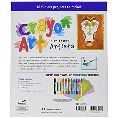 SpiceBox Petit Picasso Crayon Art for Young Artists: Toys & Games