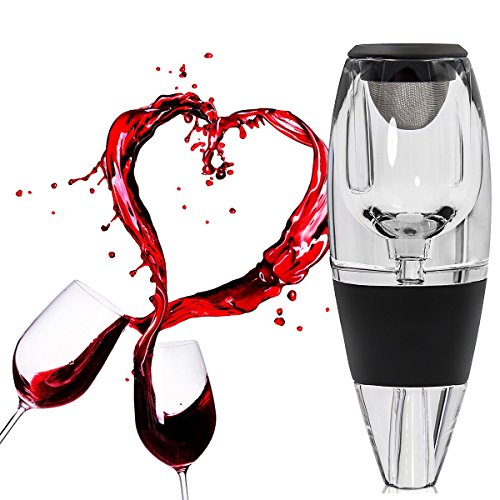 Wine Aerator Decanter, Ansoon Red Wine Aerator Diffuser, Pourer,Decanter with Stand by Ansoon