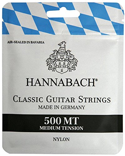 Hannabach 500MT Medium Tension Strings for Classic Guitar Set