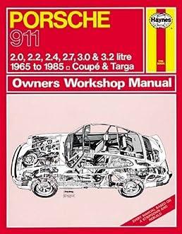 porsche 911 owner s workshop manual haynes publishing rh amazon com Porsche Boxster Manual Porsche Manual Book