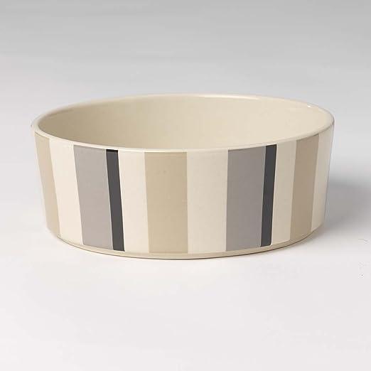 Pet Rageous 4 Cup Metro Stripes Dog Bowl