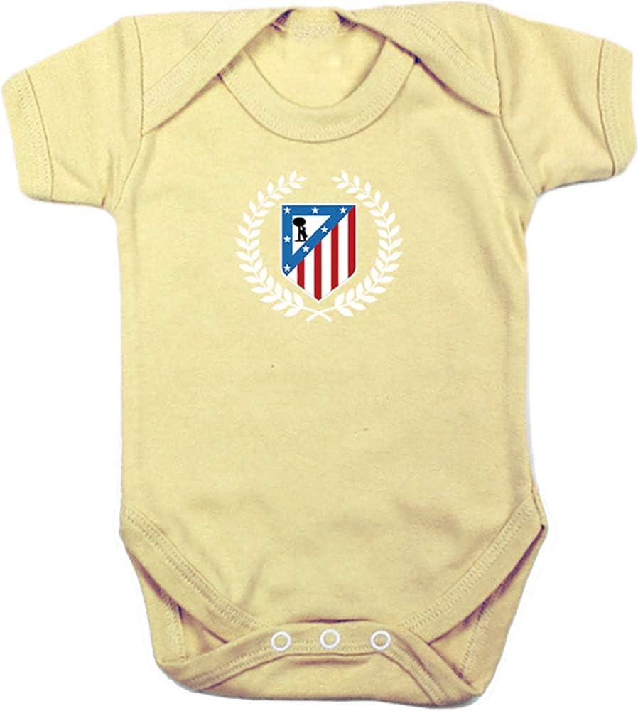 Body Bebé Atlético de Madrid Corona Camisetas del Atleti ...