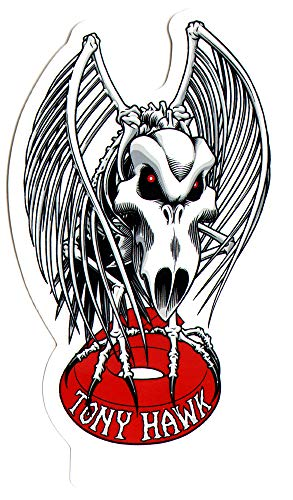 Birdhouse Tony Hawk Falcon Skateboard Sticker. 11cm