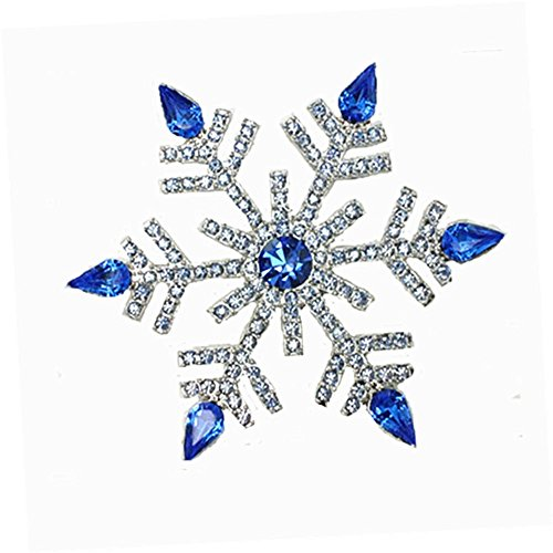 Swarovski Crystal Star Brooch - Bling Stars Christmas Xmas Swarovski Element Crystal Snowflake Brooch Pin Jewelry Gift