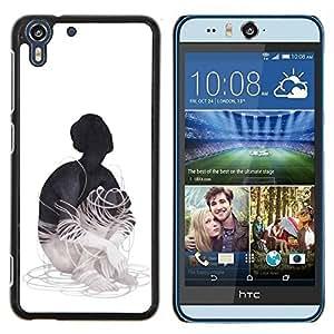 Stuss Case / Funda Carcasa protectora - Cableado - HTC Desire Eye M910x