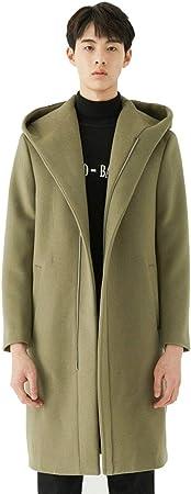 Manteaux Manteau en Laine pour Hommes Trench Coat Long à