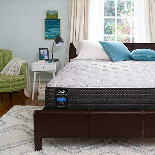 Sealy Response Performance 13-Inch Plush Pillow Top Mattress, Queen
