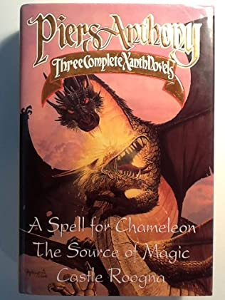 book cover of A Spell for Chameleon / The Source of Magic / Castle Roogna