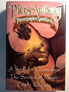 Piers anthony xanth 19 book set amazon books three complete xanth novels a spell for chameleon the source of magic castle fandeluxe Choice Image