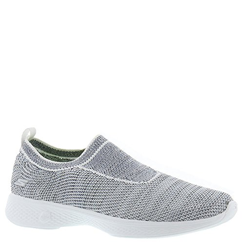 Walk Skechers Performance Women's White Walking Assure Gray Go 4 a7a1Tnrx