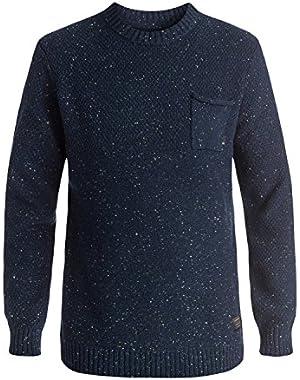 Men's Newchester Sweater and HDO Travel Sunscreen (15 SPF) Spray Bundle