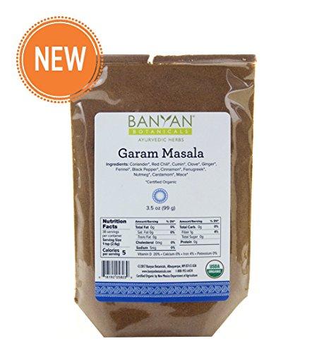 Banyan Botanicals Garam Masala - USDA Organic - Classic Blend of Aromatic Indian (Dal Masala Spice Blend)